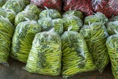 Peppar packas i påsar Royaltyfri Bild