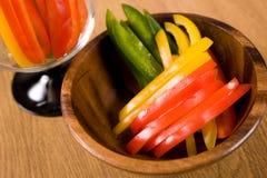peppar skivar sötsaken Fotografering för Bildbyråer