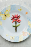 Pepparblomma Fotografering för Bildbyråer