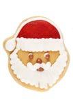 Pepparkaka Santa Claus arkivbilder