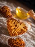 Pepparkakahjärtor Royaltyfri Fotografi