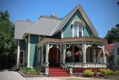 Pepparkakahus, Marquette, Michigan royaltyfri foto