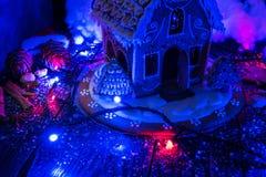 Pepparkakor för nya år och jul Royaltyfri Bild