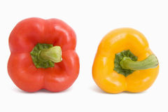 Pepper. Fresh pepper on isolated background Royalty Free Stock Images