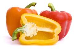 Pepper. Fresh pepper on isolated background Stock Image