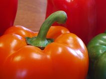 Pepper. A bell-pepper Stock Photo