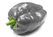 Pepper. An odd pepper royalty free stock image