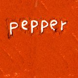 Pepper abstract Stock Image
