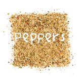Pepper abstract Stock Images