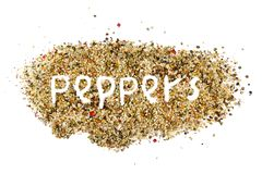 Pepper abstract Stock Photo