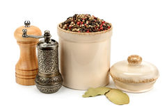 Pepper And Mill Stock Photos