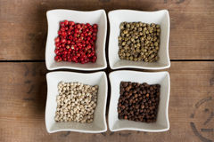 Pepper assortment Royalty Free Stock Photo