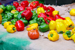 Pepper assortment Royalty Free Stock Photography