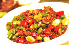Pepper beef tripe Royalty Free Stock Image