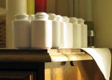 Pepper-boxes e salt-cellars Imagens de Stock