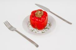Pepper Bulgarian stuffed Royalty Free Stock Photos