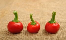 Pepper cherry Royalty Free Stock Images