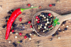 Pepper and chili Stock Image