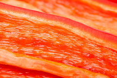 Pepper chili cut macro Royalty Free Stock Photo