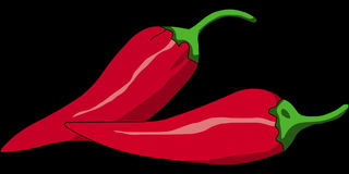 Pepper, Chili, Red, Hot, Vegetable Royalty Free Stock Image