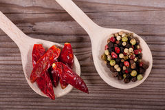 Pepper and Chili Royalty Free Stock Photos