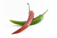 Pepper Chillis Stock Photography