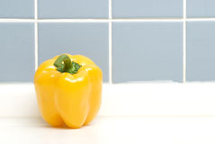 A Pepper On Closeup. Vegetable-A Pepper On Closeup Stock Images