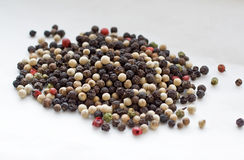 Pepper corn grains Royalty Free Stock Photos