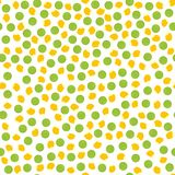 Pepper and corn seed pattern Stock Photos