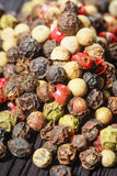 Pepper corns Royalty Free Stock Images