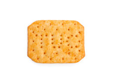 Pepper cracker isolated on white Stock Photo
