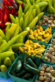 Pepper display Royalty Free Stock Photo