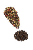 Pepper exclamation Royalty Free Stock Images