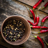 pepper fruits Royalty Free Stock Images