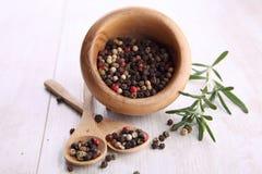 Pepper grains Stock Photos