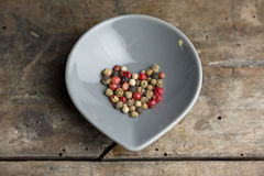 Pepper grains Stock Images