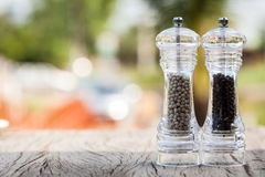 Pepper grinder Stock Image
