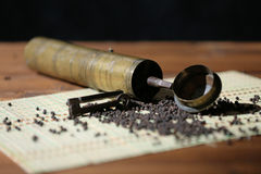 Pepper grinder Royalty Free Stock Photos