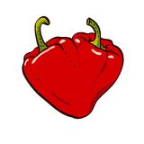 Pepper Heart Stock Image