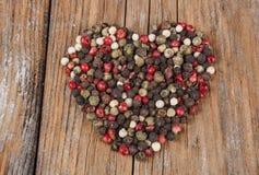 Pepper Heart Stock Photo