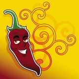 Pepper ilustration Royalty Free Stock Photography