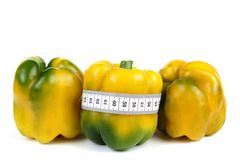 Pepper and meter Stock Images