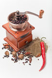 Pepper and  mill, Royalty Free Stock Image