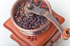 Pepper and  Mill Stock Photo