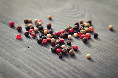 Pepper mix Stock Image