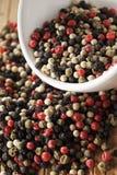 Pepper mix stock photo