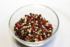 Pepper mix. Mixed pepper royalty free stock photo