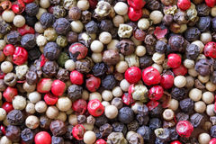 Pepper mix background. Close up Royalty Free Stock Images