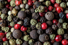 Pepper mix background Stock Photography