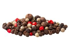 Pepper mix, full depth of field stock photos
